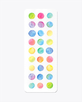 Watercolour Steps Yoga Mat