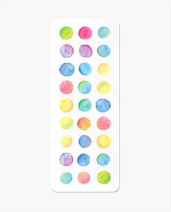 Watercolour Steps Yoga Mat
