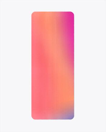 Sunset Glow Yoga Mat
