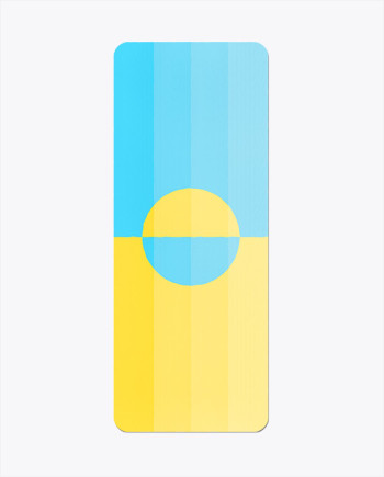 Beach Horizon Yoga Mat