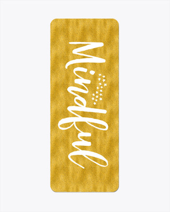 Mindful Gold Yoga Mat
