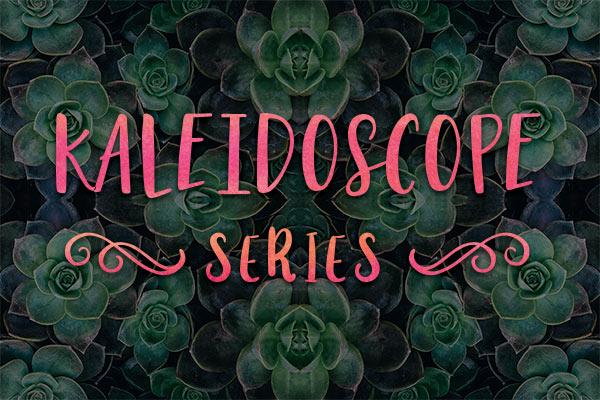Kaleidoscope Series Yoga Mat