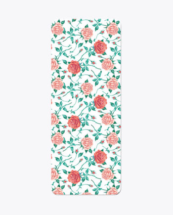 couture-style-yoga-mat-with-painted-pink-red-roses-and-bright-green-thorns